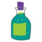 Bubbling Green Potion by 13sparrows