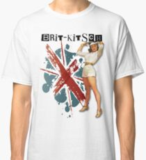 The Kitsch Bitsch : Brit-Kitsch Pin-Up Classic T-Shirt