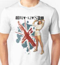 The Kitsch Bitsch : Brit-Kitsch Pin-Up Unisex T-Shirt
