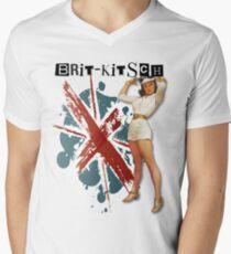 The Kitsch Bitsch : Brit-Kitsch Pin-Up Men's V-Neck T-Shirt
