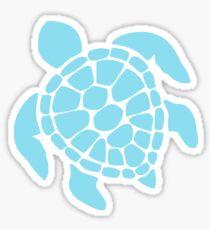 Schildkröte - Türkisblau Sticker