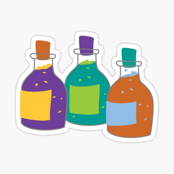 Bubbling Potions Sticker