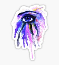 Aquarell Auge Sticker