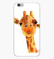 GiRaFFe Zoo ANiMaL PRiNTS ' ToMMY ' GiRaFFe GiFTS BY SHiRLeY MaCARTHuR iPhone Case