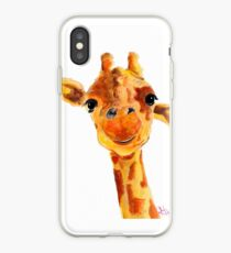 GiRaFFe Zoo ANiMaL PRiNTS ' ToMMY ' GiRaFFe GiFTS BY SHiRLeY MaCARTHuR iPhone Case