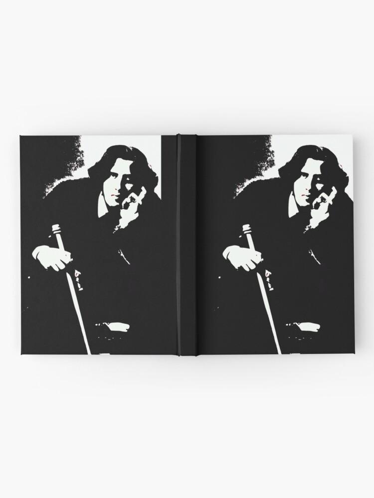 Alternate view of Oscar Wilde Hardcover Journal