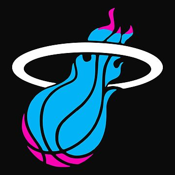 Miami vice heat basketbal by pikocpakoc