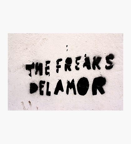 The Freaks of Love Photographic Print