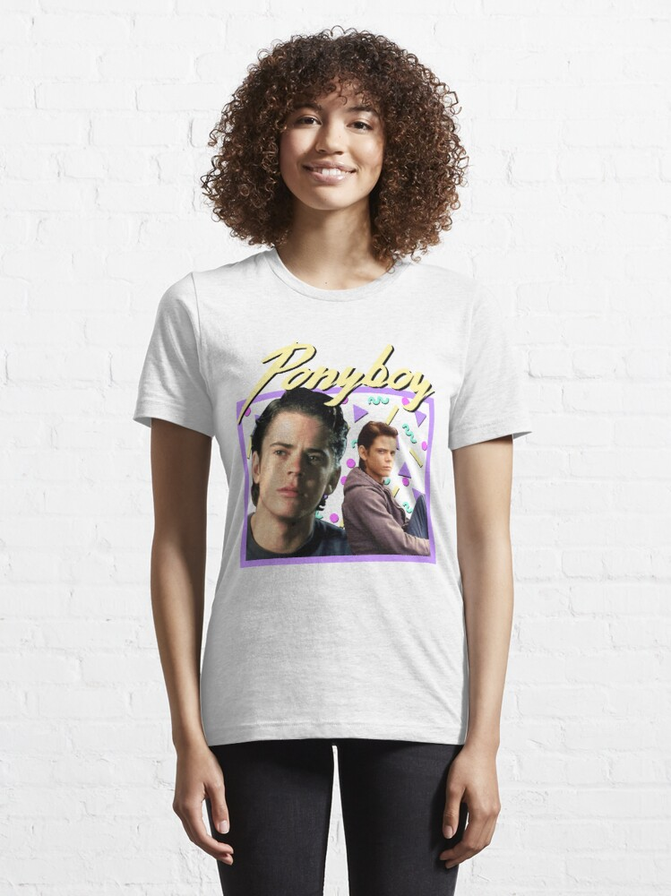 Alternate view of 80s Ponyboy Curtis The Outsiders Essential T-Shirt