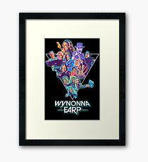 Wynonna Earp 80's Theme Collage Framed Print