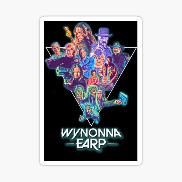 Wynonna Earp 80's Theme Collage Sticker