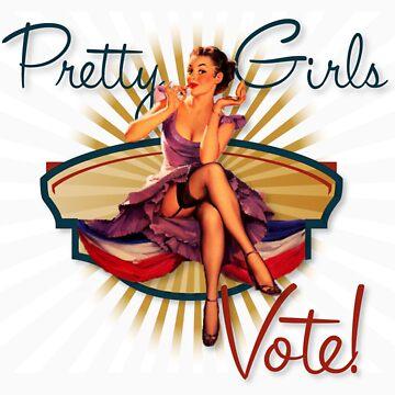The Kitsch Bitsch: Pretty Girls Vote! by TheKitschBitsch