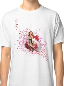 The Kitsch Bitsch : Pretty in Pink Pin-Up Classic T-Shirt