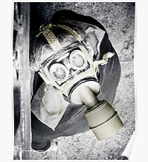 The Gas Mask Guy Poster