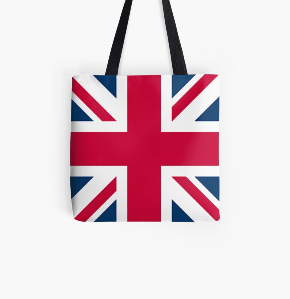 Back Pack Bag Draw String Flag Design Navy Blue Printed St George Sporty Tote