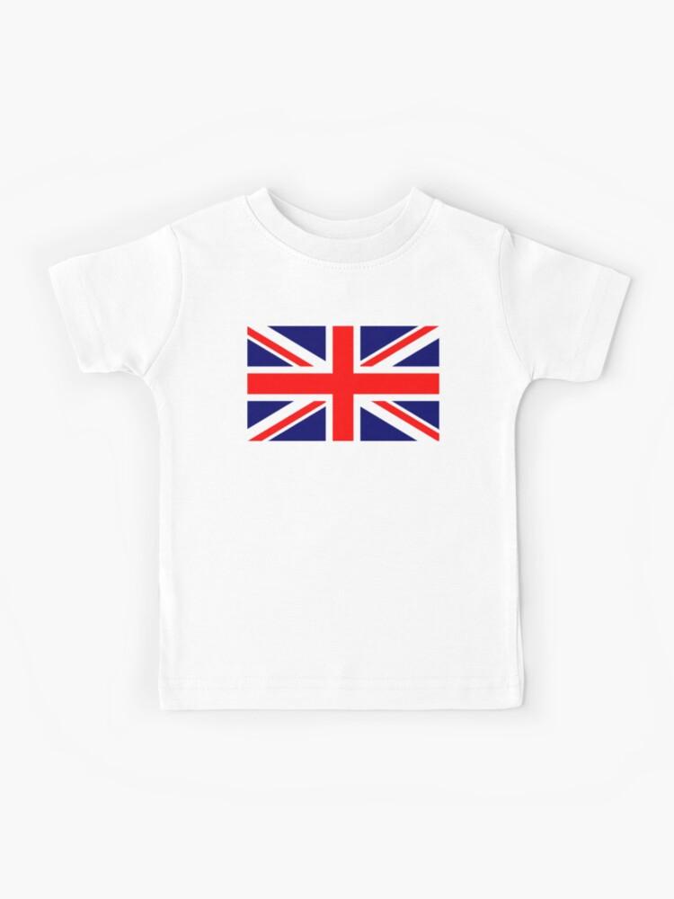 Union Jack Boys T Shirt UK British Flag Great Britain United Kingdom England