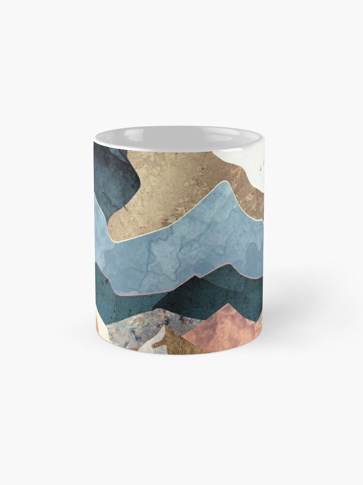 Alternate view of Golden Peaks Mug