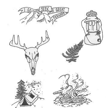 Woodland Aesthetic Flash sheet by kaelynnmara