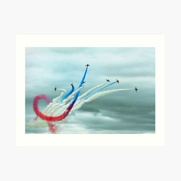 Red Arrows Art Print