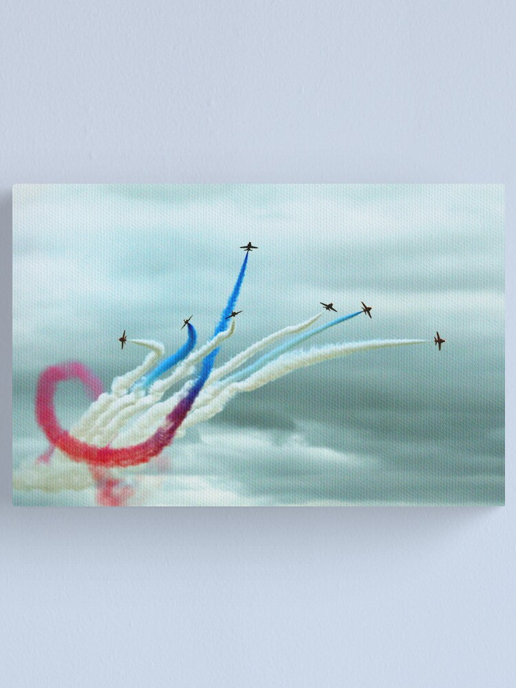 Alternate view of Red Arrows Canvas Print