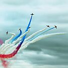 Red Arrows by Wayne Gerard Trotman