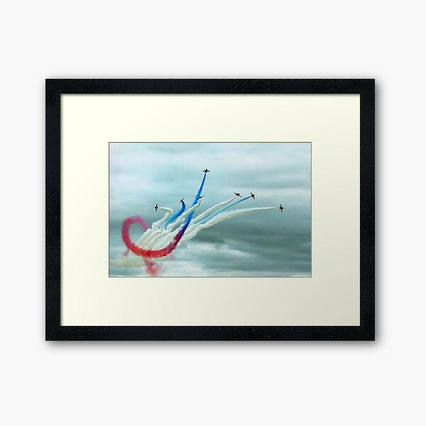 Red Arrows Framed Art Print