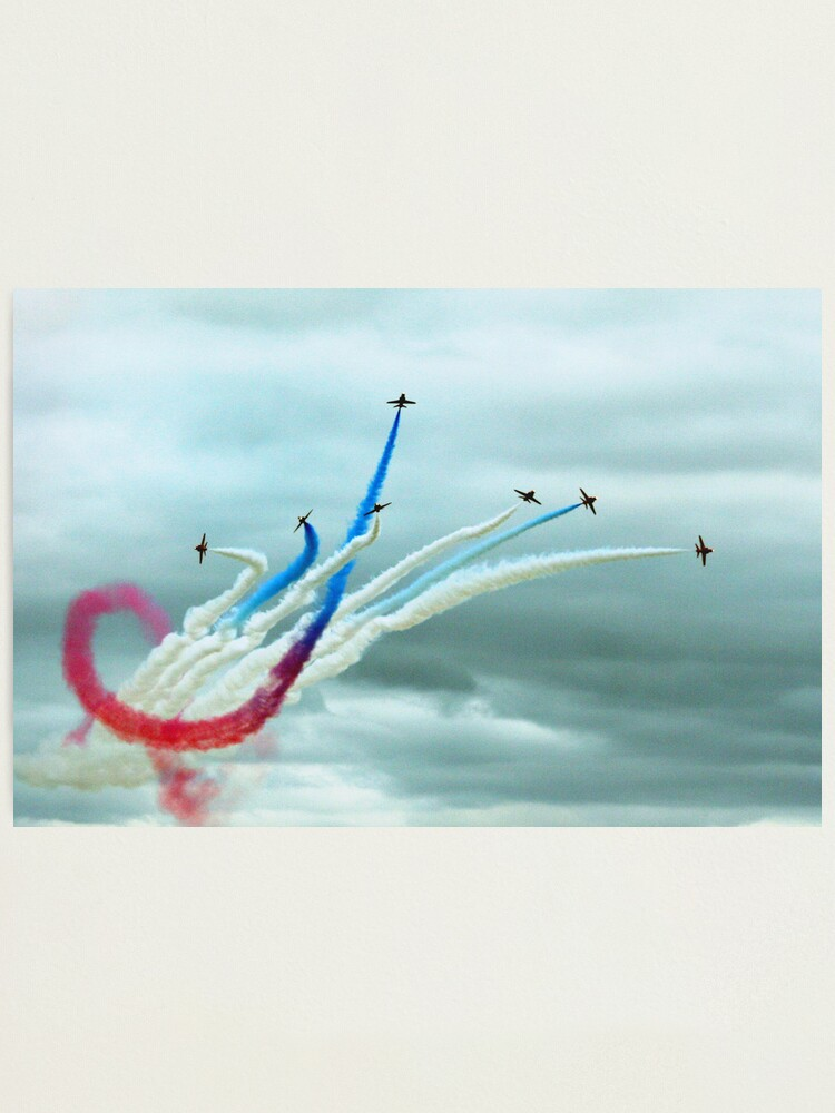 Alternate view of Red Arrows Photographic Print