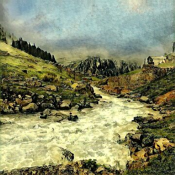 Mill Valley Stream Roar by jeffreyjirwin