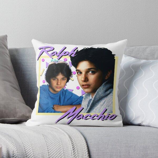 80s Ralph Macchio Throw Pillow