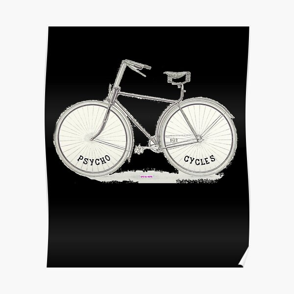 Art Print /'Hope/' Spoke Poster Gift Cycling Bicycle Bycycling Motivation