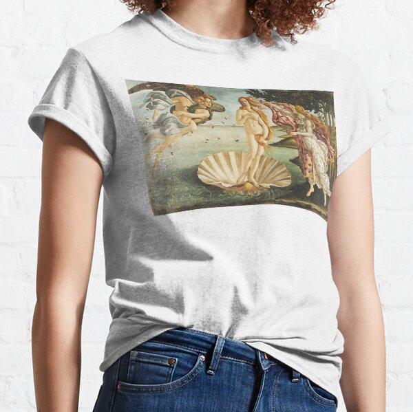 VENUS. The Birth of Venus, 1486, Sandro Botticelli. Classic T-Shirt
