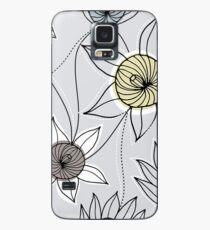 Floral constellation Case/Skin for Samsung Galaxy