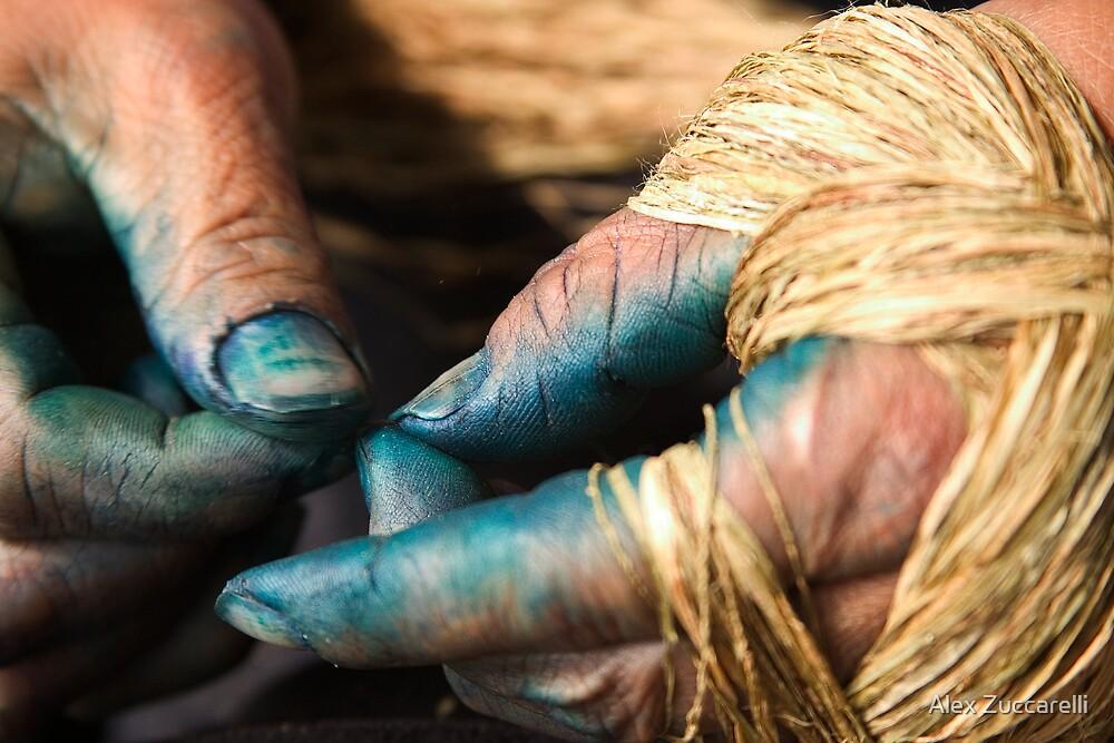 Stained Hands - Sapa, Vietnam by Alex Zuccarelli