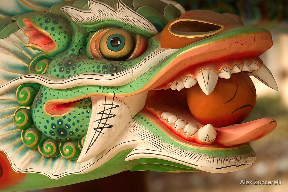 Dragon Head - Haein Temple, South Korea by Alex Zuccarelli
