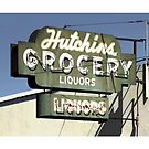 Hutchins Grocery Liquors by MPitzer