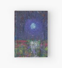 Marsh Glow original painting Hardcover Journal