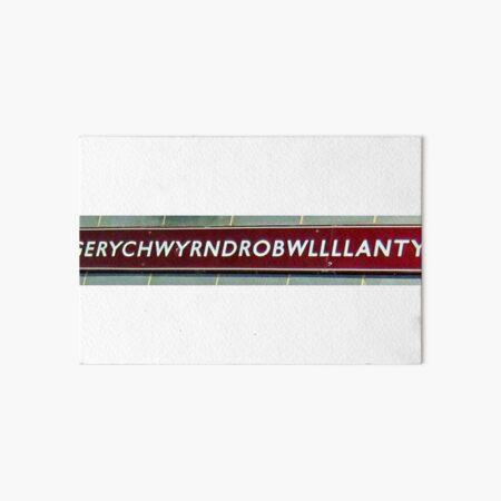 Llanfairpwllgwyngyllgogerychwyrndrobwllllantysiliogogogoch  Art Board Print