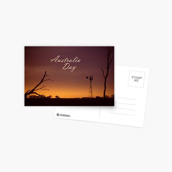 Australia Day Postcard