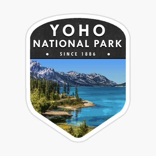 Yoho National Park 2 Sticker