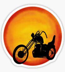 Chopper Sun, Rocker, Biker Sticker