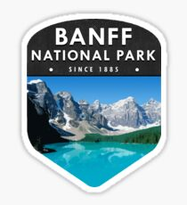 Banff National Park 2 Sticker