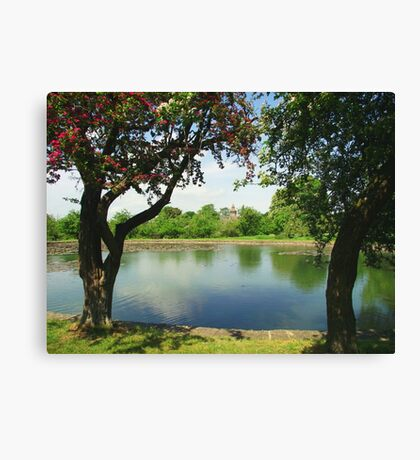 The Fishing Lake Canvas Print