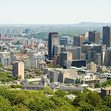 Downtown Montreal, Quebec, Canada by mikemaxdesigns