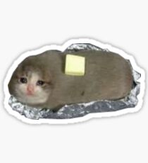 cat potato Sticker