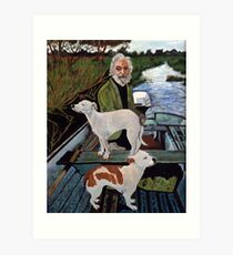 Goodfellas Painting Dogs Art Print