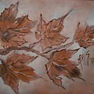 November Amber Maples by linmarie