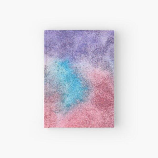 Original Watercolor Painting Wet on Wet color bleed Hardcover Journal