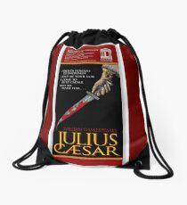 JULIUS CAESAR - WILLIAM SHAKESPEARE - LYCEUM FAUX THEATRE POSTERS Drawstring Bag