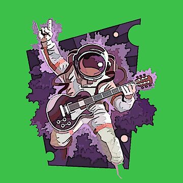Rock And Roll Spaceman by unclestich