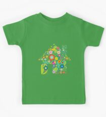 Floral colorful abstract  Kids Clothes
